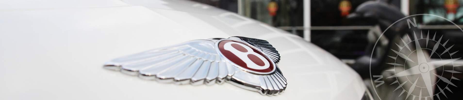 Bentley Wappen auf Haube