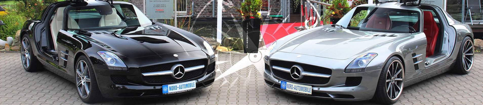 Mercedes mit Flügeltür